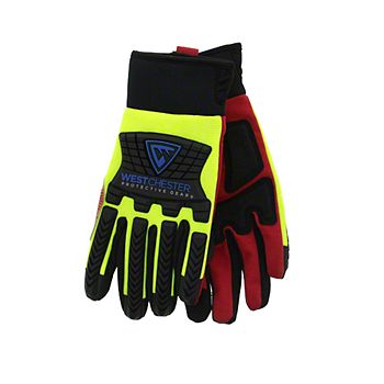 40586 - Boss® 1JM770 Padded Mechanics Gloves