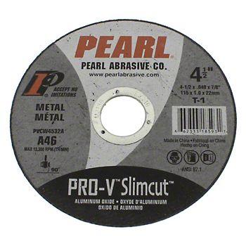 43120 - Pearl Abrasive Thin Cut-off Wheel
