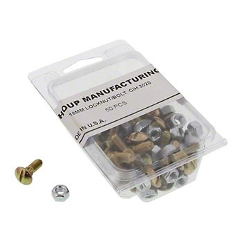458061 - Section Bolts and Locknuts