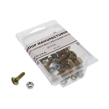 458062 - Section Bolts and Locknuts