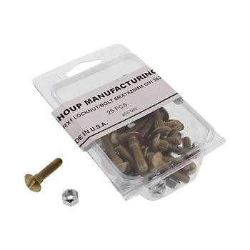 458063 - Section Bolts and Locknuts
