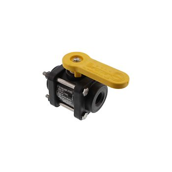 502200 - V050 4 Bolt Poly Ball Valve