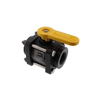 502206 - V100FP 4 Bolt Poly Ball Valve