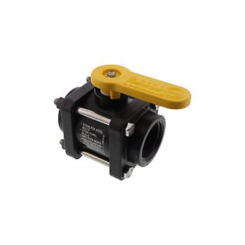 502208 - V125 4 Bolt Poly Ball Valve