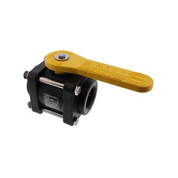 Banjo V150 4 Bolt Poly Ball Valve