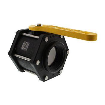 502215 - V300FP 6 Bolt Poly Ball Valve