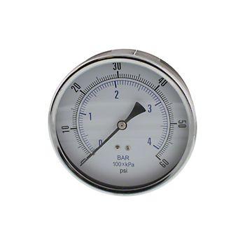 "4-1/2"" Dry Pressure Gauge 0-60 psi"