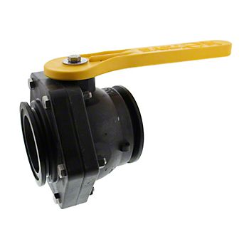 503745 - Flanged Stubby Poly Ball Valve