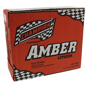 5052T - Champion Amber Lithium Grease - Case of 10