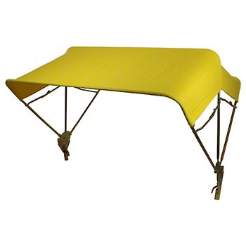 """5593 - 48"""" Yellow Snowco Canopy Assembly"""