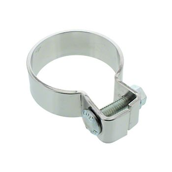 722212 - Chrome Single Bolt Muffler Clamp