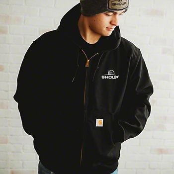 Large Carhartt Duck Thermal-Lined Active Jacket
