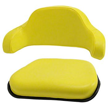 DR700 - 2 Piece Seat For John Deere Tractor