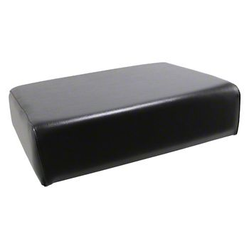 Black Bottom Seat Cushion