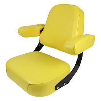 DSA4000 - Deluxe Seat, Yellow Vinyl