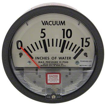 0-15 Vacuum Pressure Gauge