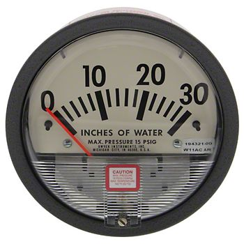 SH48407 - Vacuum Pressure Gauge