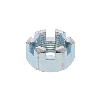 SLN58NF - Slotted Nut NF Thread