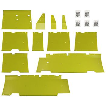 Poly Skid Plate Kit