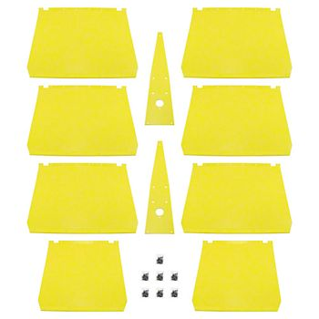 SSNH320 - Poly Skid Plate Kit