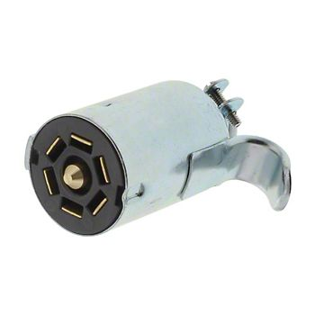 TC8330 - 7 Flat Contact Male Connector