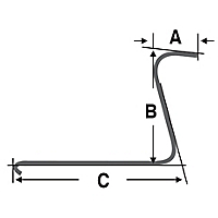 Wheel Rake Tine Dimensions
